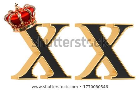 Alfabet brief geïsoleerd witte groene bubbels Stockfoto © pashabo