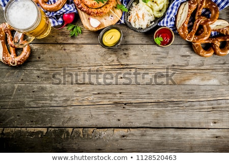 Rustic background for Oktoberfest Stock photo © BarbaraNeveu