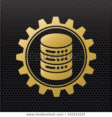Stock photo: Website Protection Concept. Golden Gears.