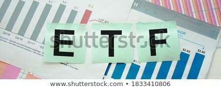 seguro · verde · quadro-negro · rabisco · ícones - foto stock © tashatuvango