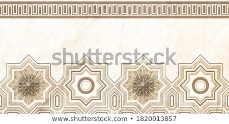 iráni · dekoratív · kerámia · csempék · kilátás · színes - stock fotó © alexeys