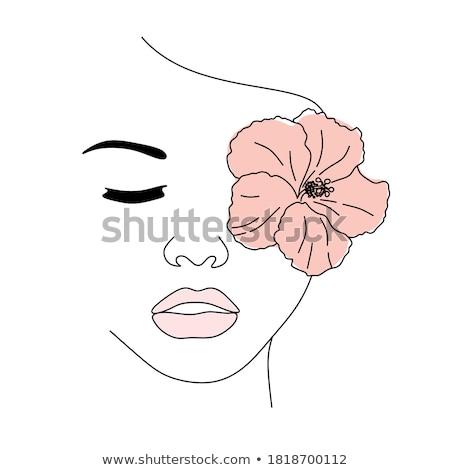 szalon · vonal · terv · fürdő · kikapcsolódás · wellness - stock fotó © genestro