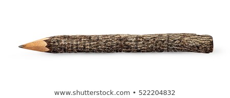 Szokatlan ceruza űrlap izolált fehér textúra Stock fotó © Cipariss