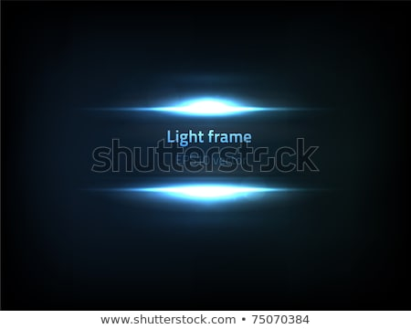dynamic light frame effect background vector Stock photo © SArts