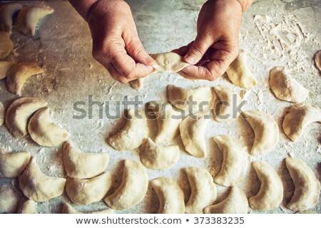 Grandmother handing pie Stock photo © IS2