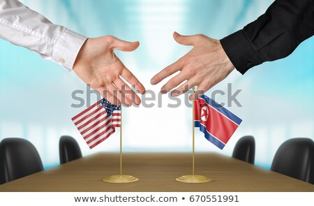 United States North Korea Diplomacy Stock photo © Lightsource