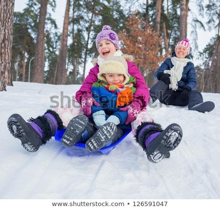 dziecko · mały · gry · kolorowy · boisko · szczęśliwy - zdjęcia stock © is2