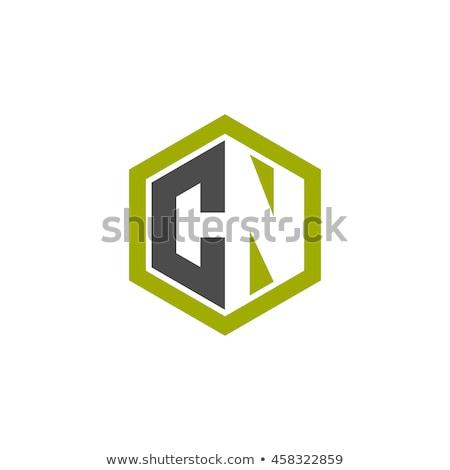 Logotipo ícone polígono forma projeto Foto stock © taufik_al_amin