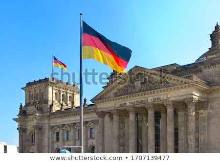 Stock photo: Berlin Reichstag facade Bundestag Germany