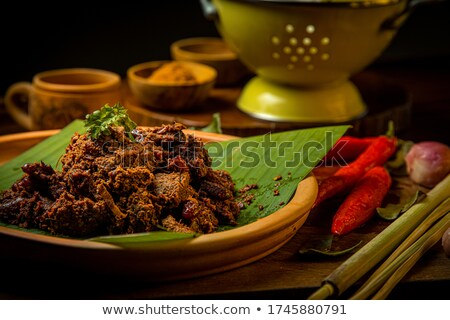 アジア 人気のある 伝統的な 食品 セット 南 ストックフォト © amanmana