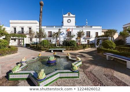 Casa Consistorial in Tarifa Stock photo © benkrut