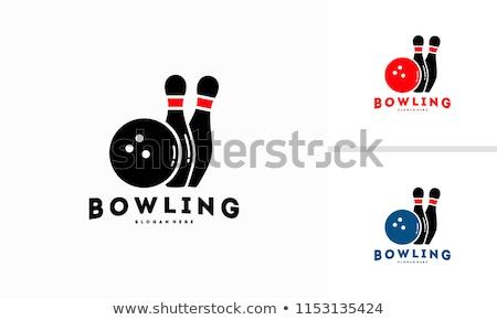 bowling logo vector icon symbol stock photo © blaskorizov