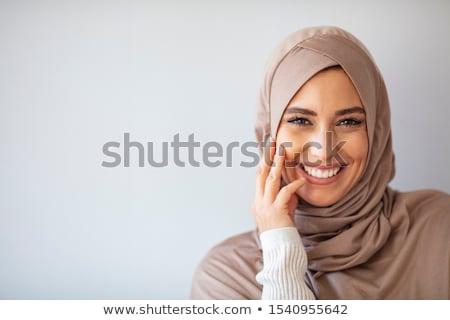 портрет красивой мусульманских женщину женщины Сток-фото © artisticco
