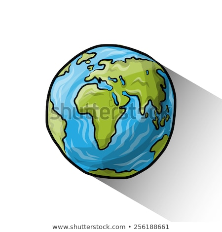 color sketch earth stock photo © netkov1