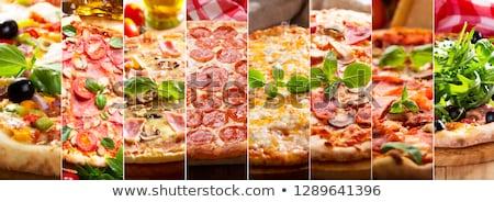 Set of various type of fast food Stock fotó © jossdiim