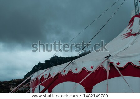 A circus panorama scene Stock photo © bluering