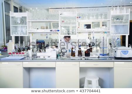 Workplace in environmental research laboratory Stock photo © pressmaster