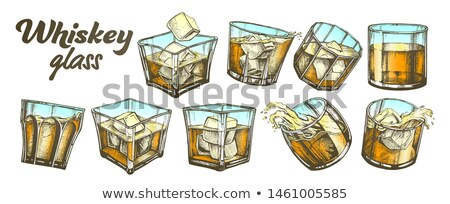 Color Collection Classical Irish Whiskey Glass Set Stock photo © pikepicture