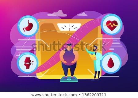 Diabete vettore metafore zucchero livello Foto d'archivio © RAStudio