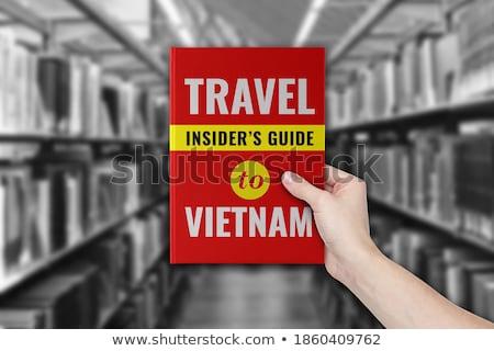 Homme aider tourisme destination ville design Photo stock © Freedomz