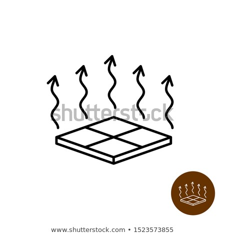 House Room Floor Heating Equipment Vector Icon Stock photo © pikepicture