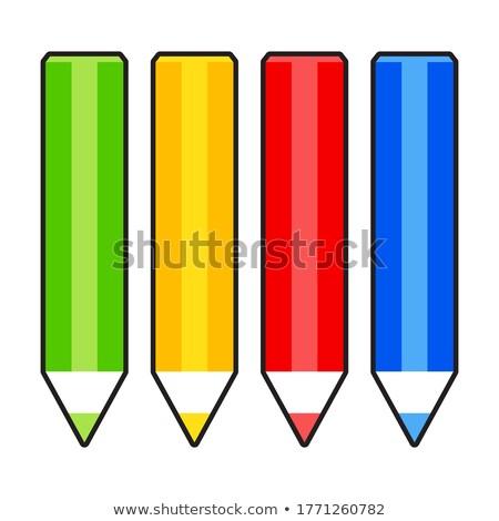de · volta · à · escola · conjunto · isolado · branco · projeto - foto stock © robuart
