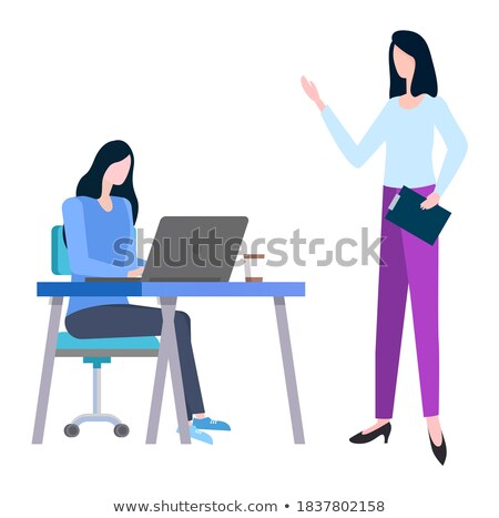 Training at Work Controlling Supervisor, Brokers Stock photo © robuart