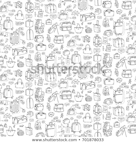 Diaper Size Icon Vector Outline Illustration Stock photo © pikepicture