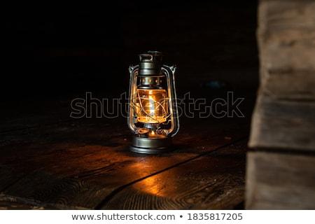 Lantaarn heldere licht historisch gebouwen Stockfoto © artjazz