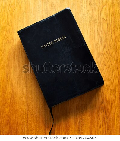Spanish version of the Holy Bible Stock photo © boggy
