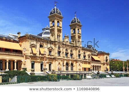 San Sebastian Town hall, Spain Stock photo © borisb17