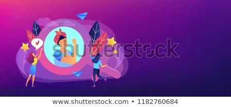 Feminism header or footer banner. Stock photo © RAStudio