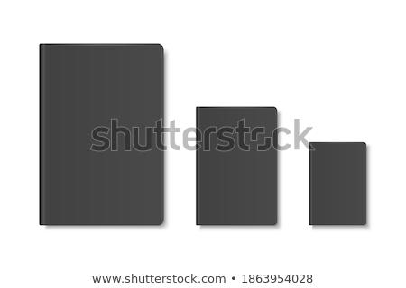 Boek lint bladwijzer afgedrukt vector Stockfoto © robuart