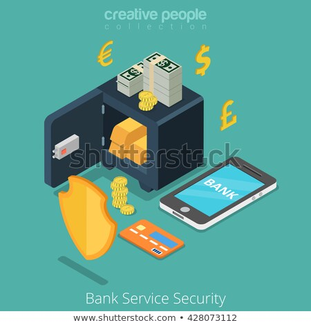 Kredi kartı dolandırıcılık vektör mecaz hacker Stok fotoğraf © RAStudio
