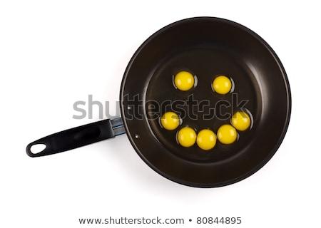 スマイリー · 卵 · 笑顔 · レトロスタイル · 笑顔 · 顔 - ストックフォト © erierika