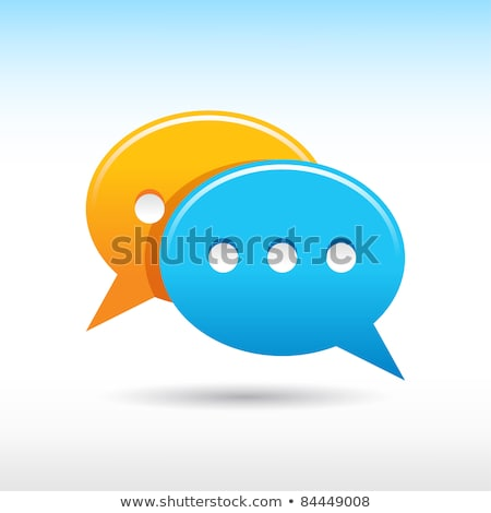 speech bubble   www stock photo © kbuntu