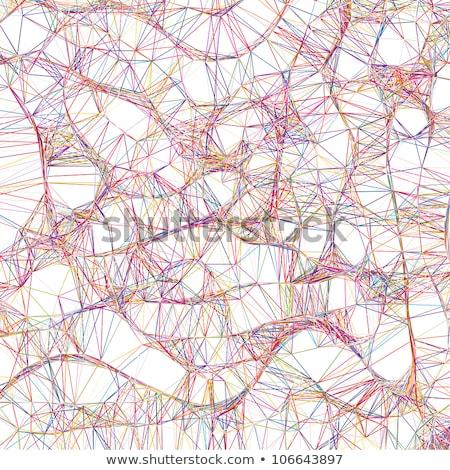 Absztrakt színes vonalak semleges eps vektor Stock fotó © beholdereye