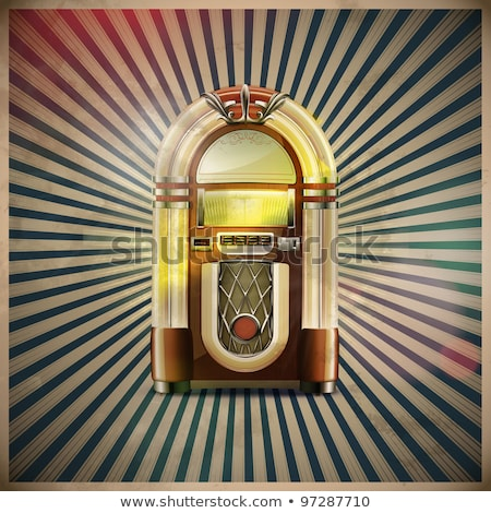 classic juke box Stock photo © oblachko