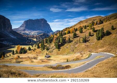 Sella pass, Trentino, Italy Stock photo © Antonio-S