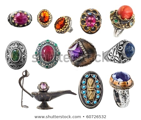 Ottoman vintage ring Stock photo © lubavnel