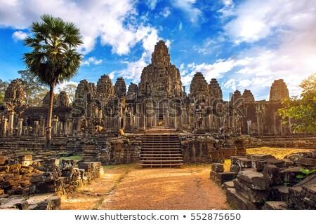 alivio · angkor · Camboya · antigua · piedra · Angkor · Wat - foto stock © johnnychaos