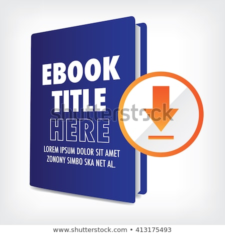Book covers with word ebook. Stock photo © borysshevchuk