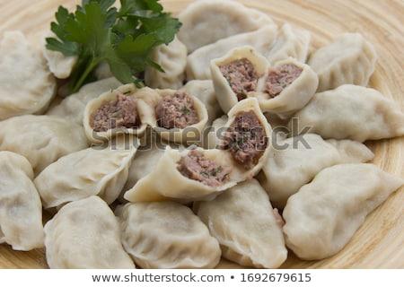asian meat dumplings stock photo © zkruger