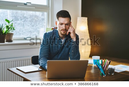 young businessman looking concerned stock photo © photography33