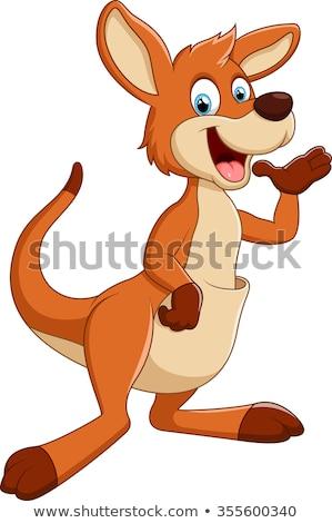 Cartoon Character Kangaroo Stock photo © RAStudio
