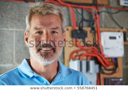 portrait of an electrician Stock photo © photography33