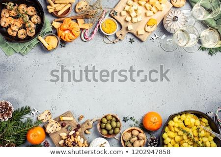 Gyümölcsök zöldségek izolált fehér fény alma Stock fotó © vkraskouski