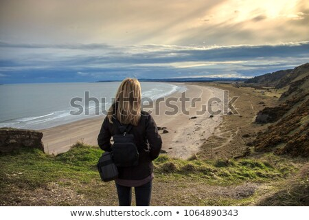 beautiful scottish landscape aberdeenshire scotland stock photo © julietphotography