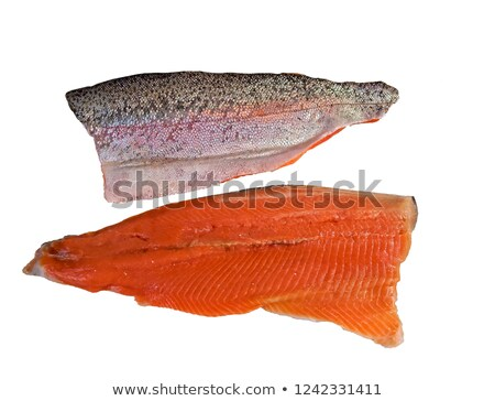 trout filet and ingredients Stock photo © M-studio