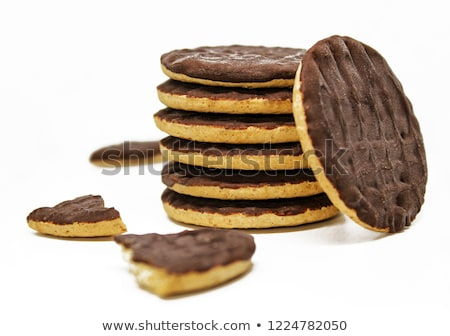 Whole grain biscuits close up Stock photo © zhekos